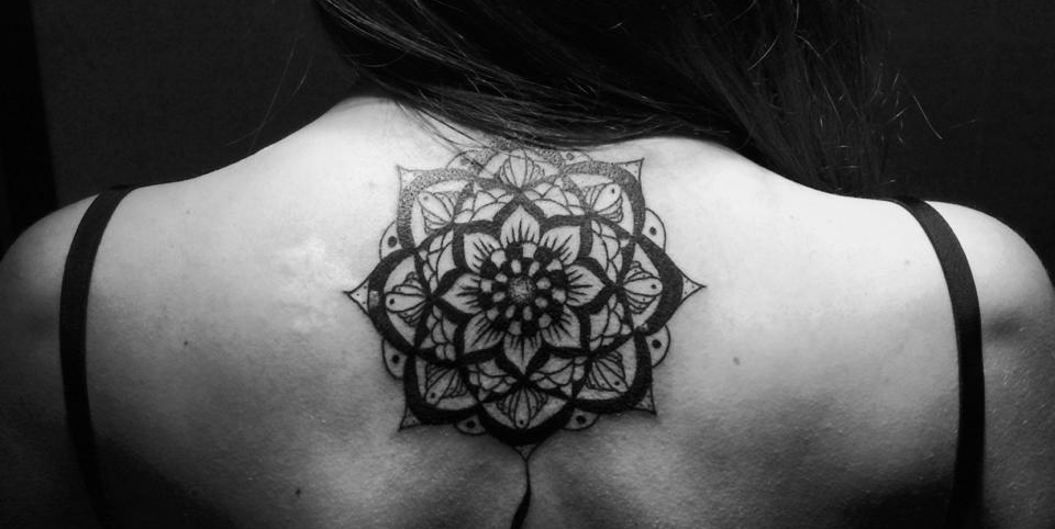 Elegant black tattoo designs