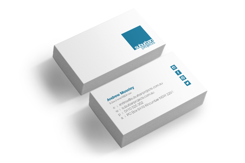 Suburban Projects Stationery